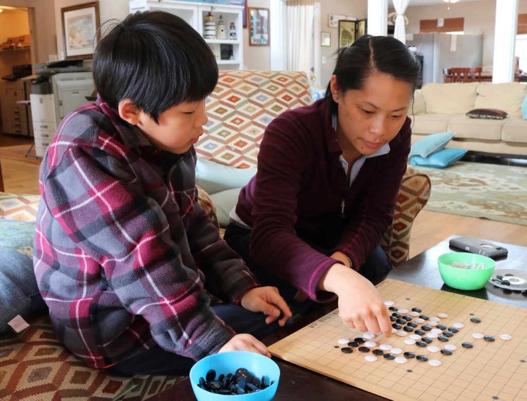 Jo Chin Playing   Living Science Academy
