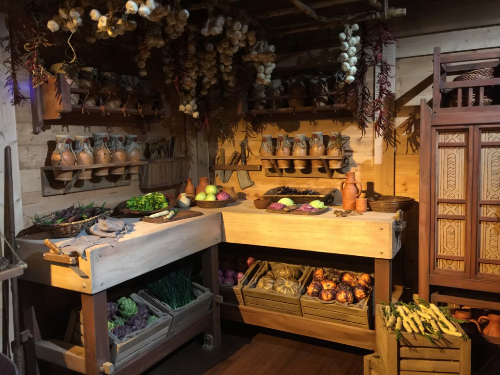 Room for Food Prep: The Ark's Kitchen